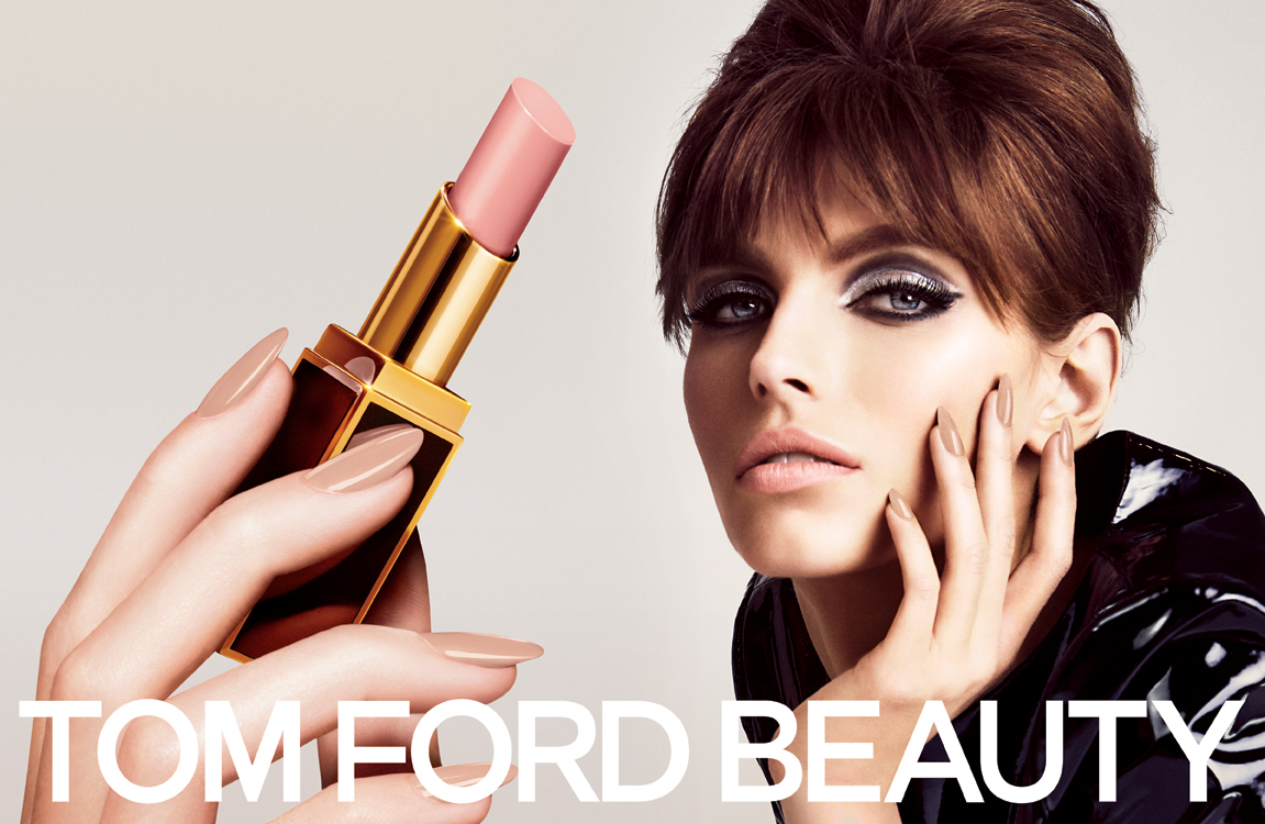 TOM FORD Beauty 2013: Introducing the Lip Color Shine Collection TOM FORD BEAUTY 2013 Campaign