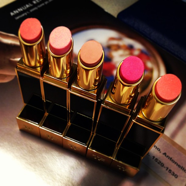 TOM FORD Beauty 2013: Introducing the Lip Color Shine Collection my lip shines