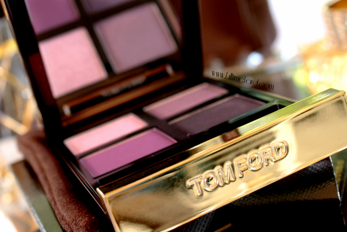 TOM FORD Beauty: Violet Dusk Eye Color Quad Review & Swatches TF Violet Dusk1