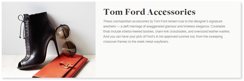 TODAY: TOM FORD Accessories on Gilt! TOM FORD Gilt Sale