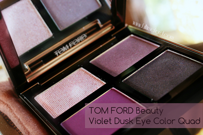 TOM FORD Beauty: Violet Dusk Eye Color Quad Review & Swatches TOM FORD Violet Dusk Header1