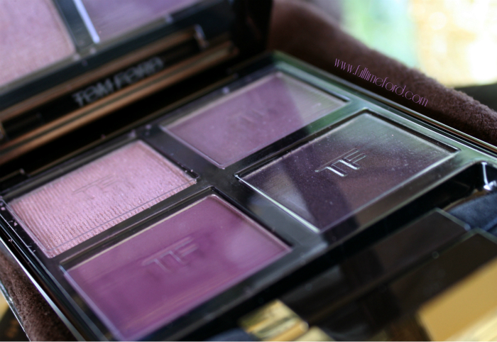 TOM FORD Beauty: Violet Dusk Eye Color Quad Review & Swatches TOM FORD Violet Dusk Quad1