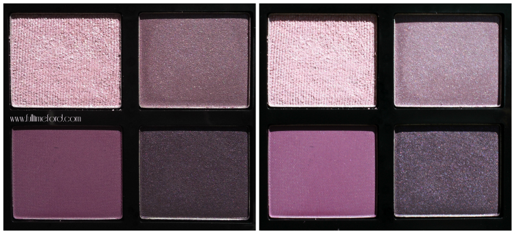 TOM FORD Beauty: Violet Dusk Eye Color Quad Review & Swatches TOM FORD Violet Dusk Swatches
