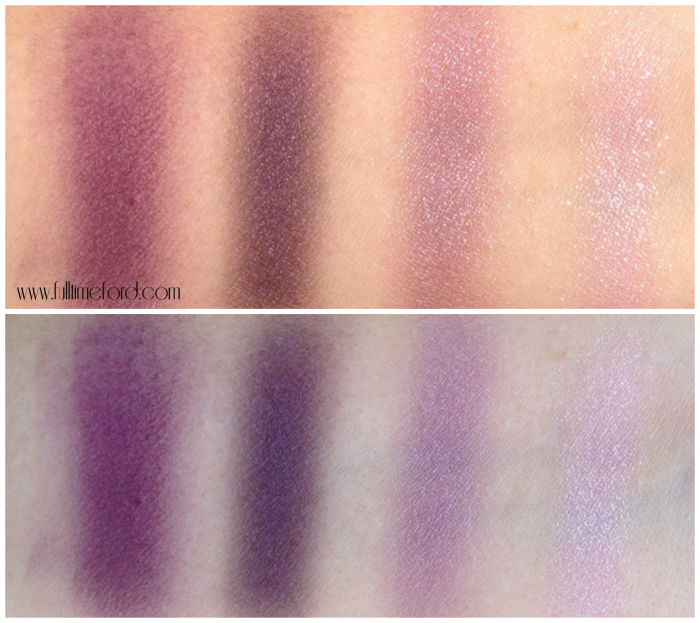 TOM FORD Beauty: Violet Dusk Eye Color Quad Review & Swatches Violet Dusk Swatches 2