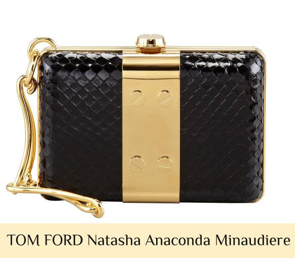 Holiday Gift Guide: Select TOM FORD Handbags 40% Off at Bergdorf TOM FORD Natasha