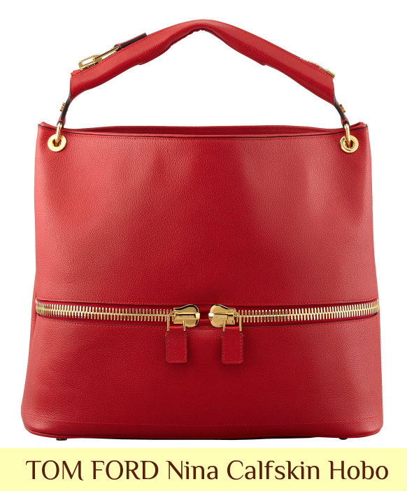 Holiday Gift Guide: Select TOM FORD Handbags 40% Off at Bergdorf TOM FORD Nina Hobo