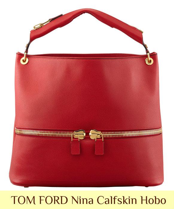 Holiday Gift Guide: Select TOM FORD Handbags 40% Off at Bergdorf TOM FORD Nina Hobo