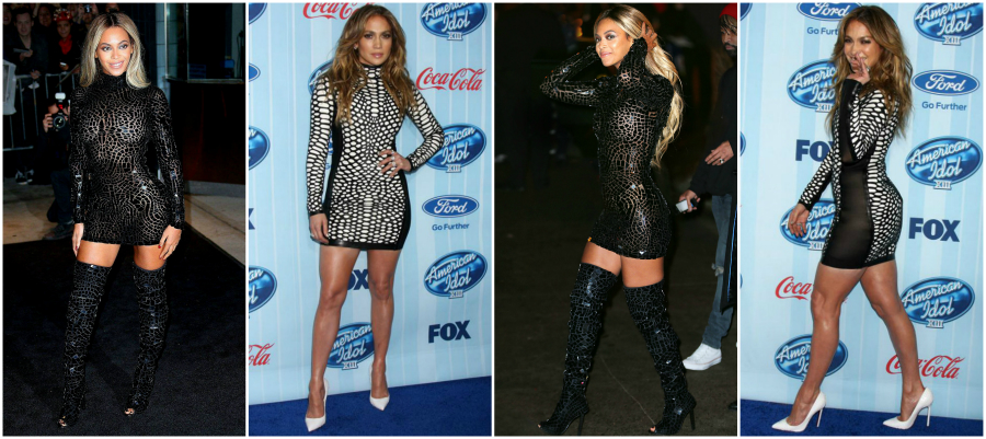 Spring/Summer 2014: Who Wore It Better? Beyoncé or Jennifer? featured image