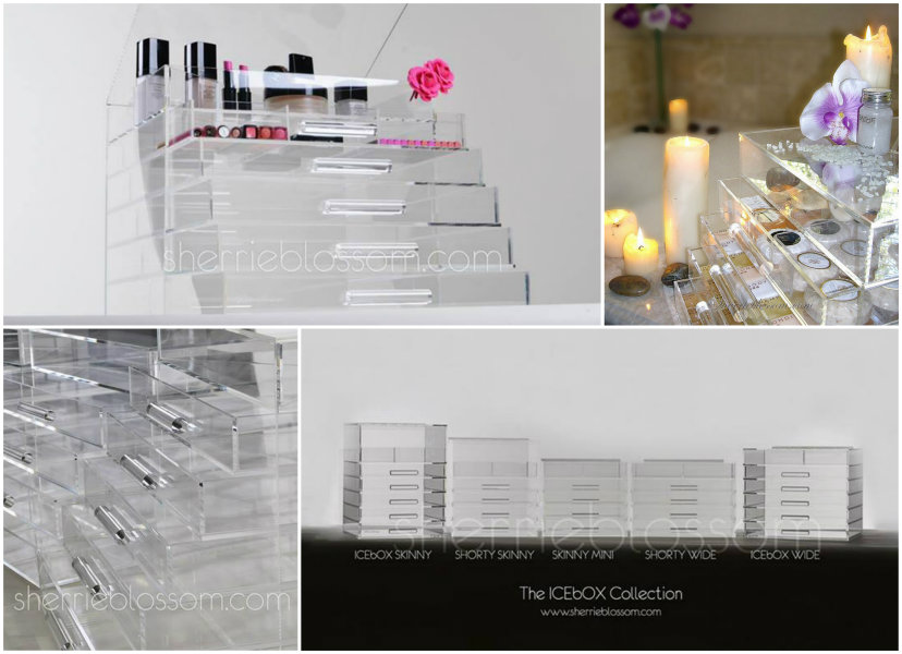 TOM FORD Beauty: Acrylic Cosmetic Storage Solutions (MUJI vs. ICEbOX) ICEbOX