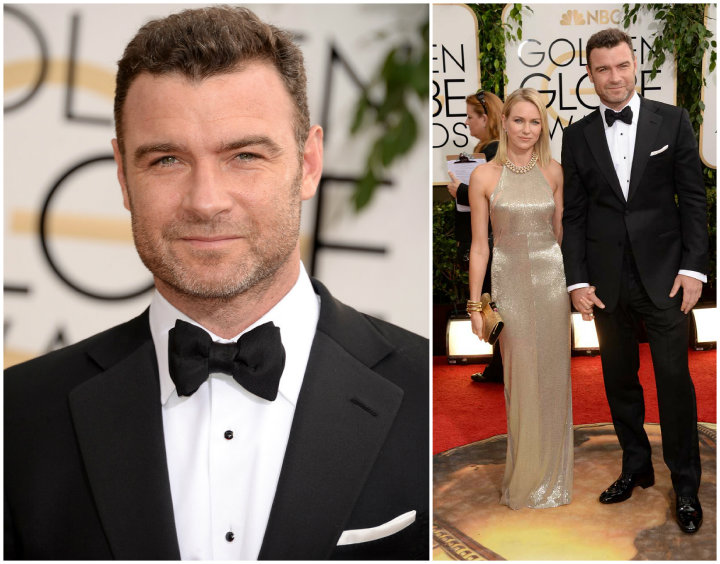 2014 Golden Globes: Who Wore TOM FORD Best? Liev schrieber tom ford golden globes 2014