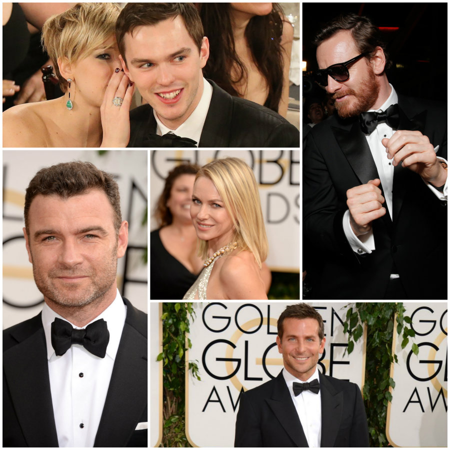 2014 Golden Globes: Who Wore TOM FORD Best? TOM FORD Golden Globes 2014