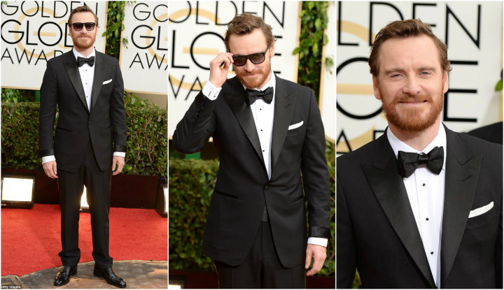 2014 Golden Globes: Who Wore TOM FORD Best? michael fassbender tom ford golden globes 2014