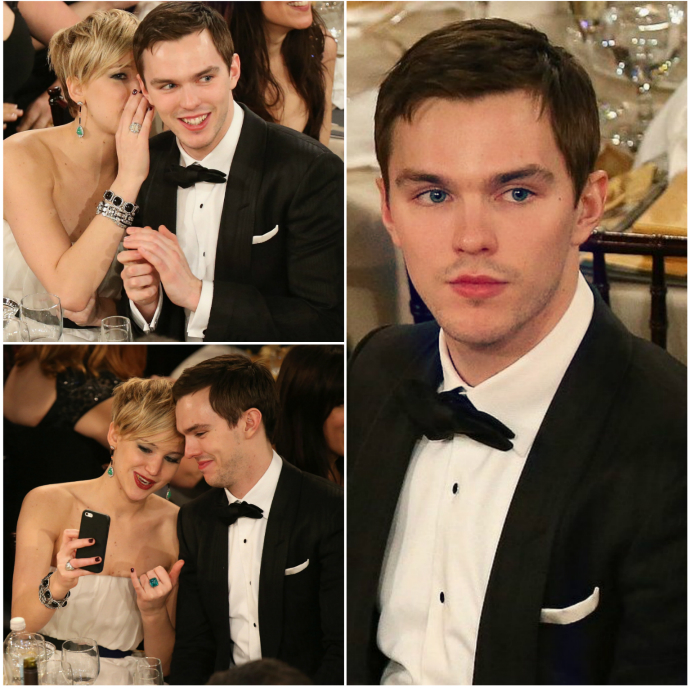 2014 Golden Globes: Who Wore TOM FORD Best? nicholas hoult tom ford golden globes 20141