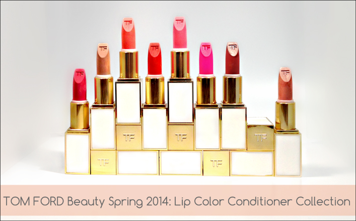 TOM FORD Beauty: Lip Color Sheer Collection Review & Swatches featured image