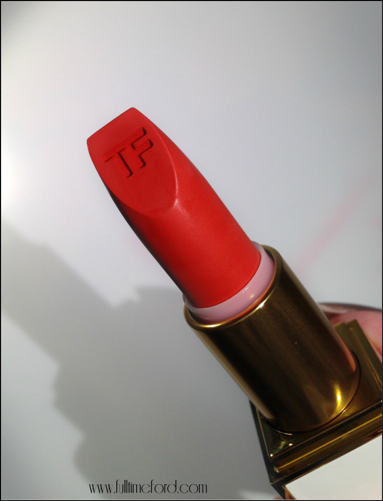 TOM FORD Beauty: Lip Color Sheer Collection Review & Swatches firecracker