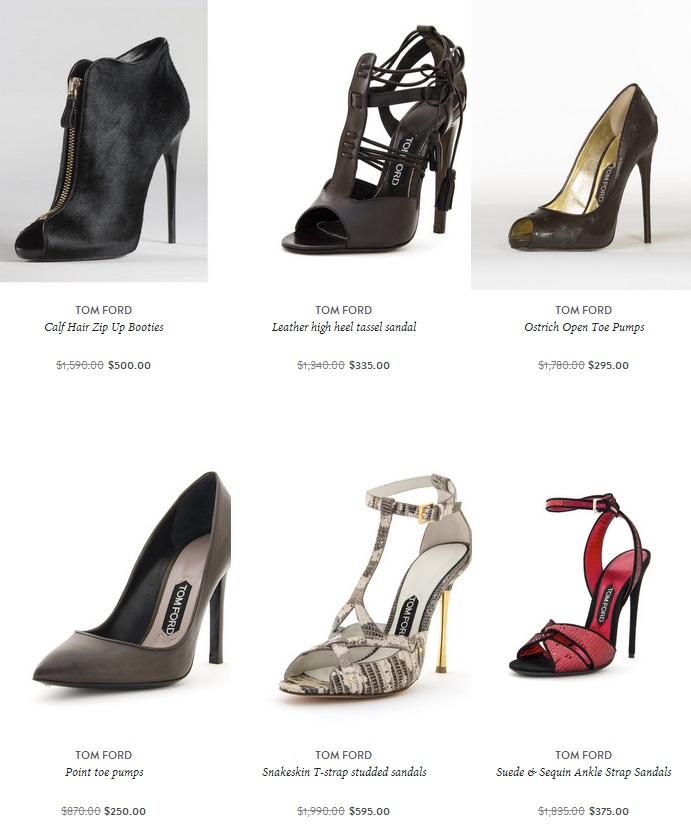 TOM FORD Ostrich Open Toe Pumps ($295, originally $1,780) tom ford amuze 2