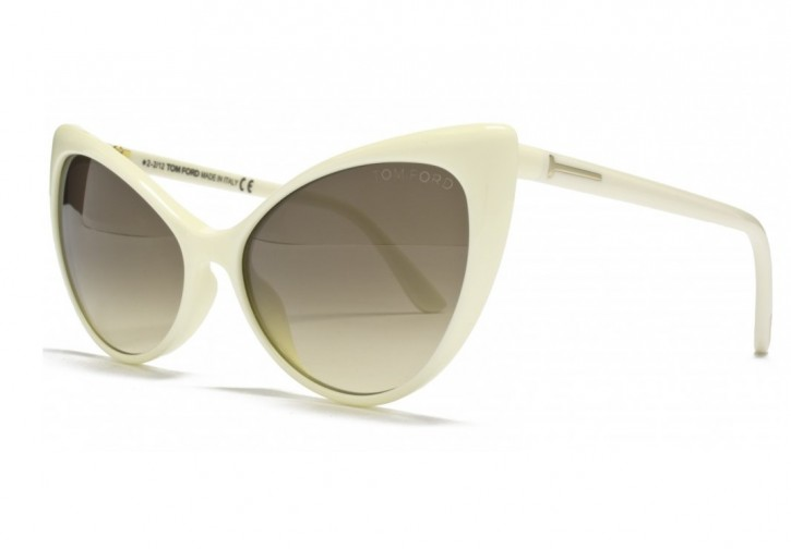 Anastasia Sunglasses in Ivory 350 125