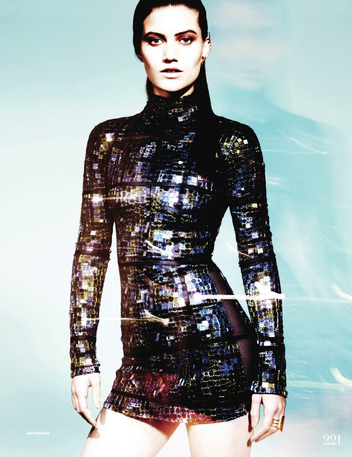 TFOTD: Kelsey Gerry Shines in TOM FORD for ELLE UK, May 2014 featured image