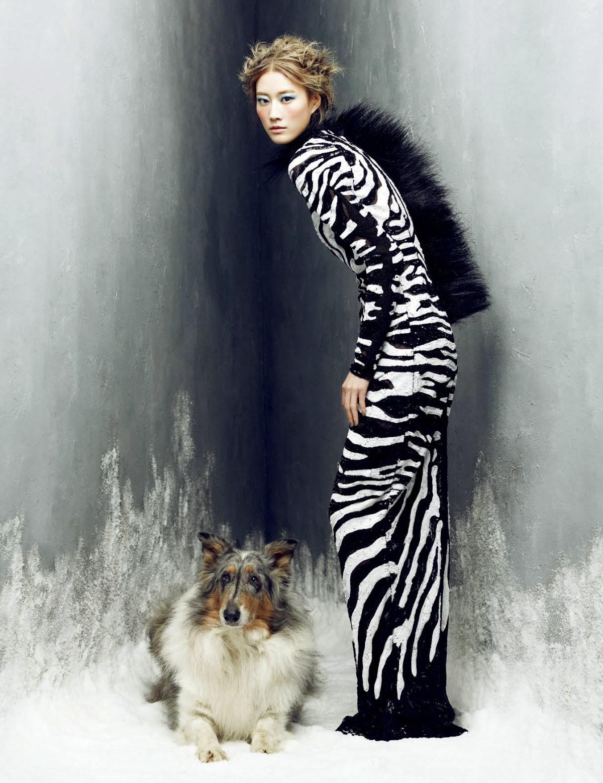TFOTD: Lee Hyun Yi wears TOM FORD Fall/Winter 2013 for Harper's Bazaar Korea featured image
