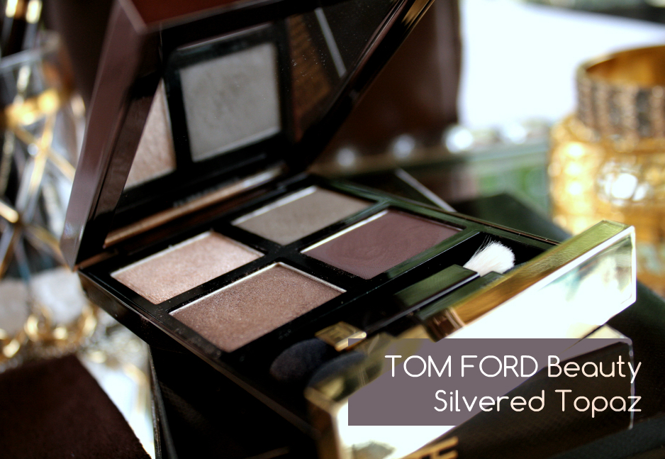 Tom Ford Beauty Silvered Topaz Eye Color Quad Review