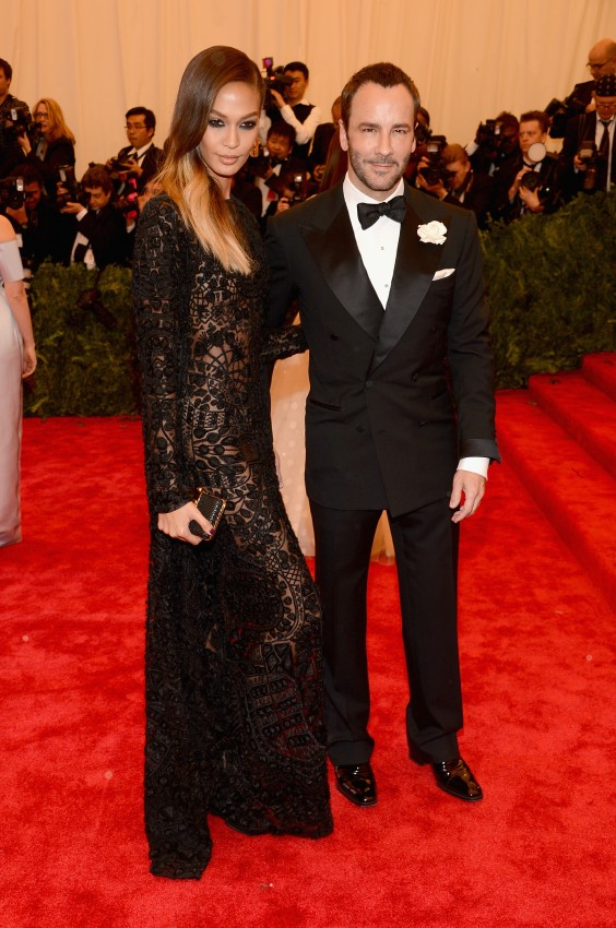 TFOTD: JOAN SMALLS AND TOM FORD AT THE 2013 MET GALA Met gala 2013 joan smalls tom ford 564x850