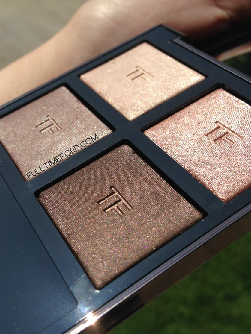 REVIEW & SWATCHES: NUDE DIP LIMITED EDITION FALL 2014 EYE COLOR QUAD Angle 2