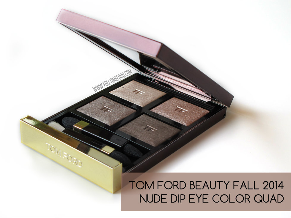REVIEW & SWATCHES: NUDE DIP LIMITED-EDITION FALL 2014 EYE COLOR QUAD featured image