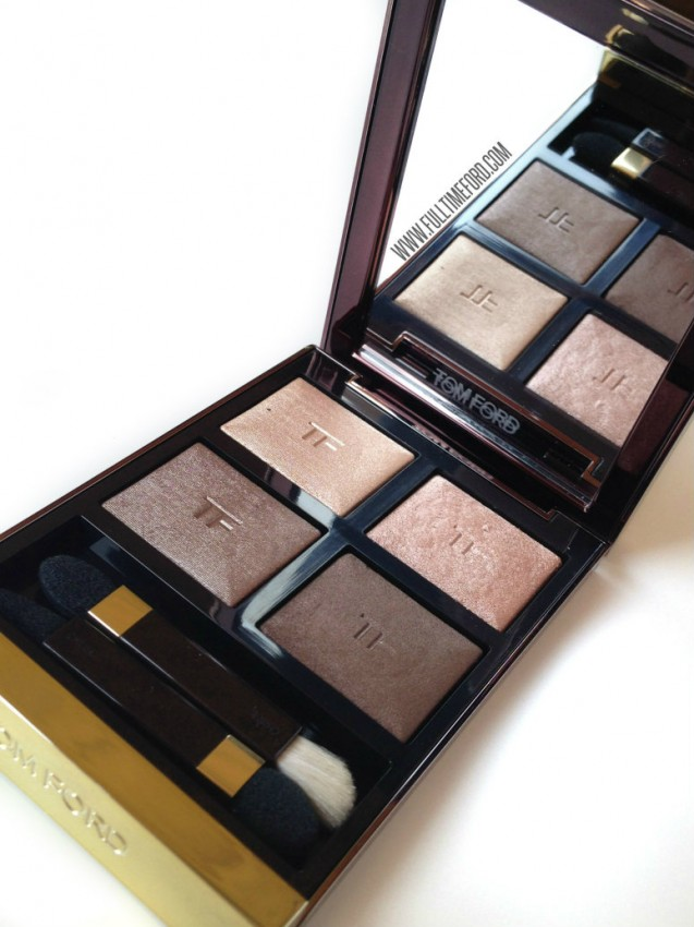REVIEW & SWATCHES: NUDE DIP LIMITED EDITION FALL 2014 EYE COLOR QUAD Nude Dip 1 637x850