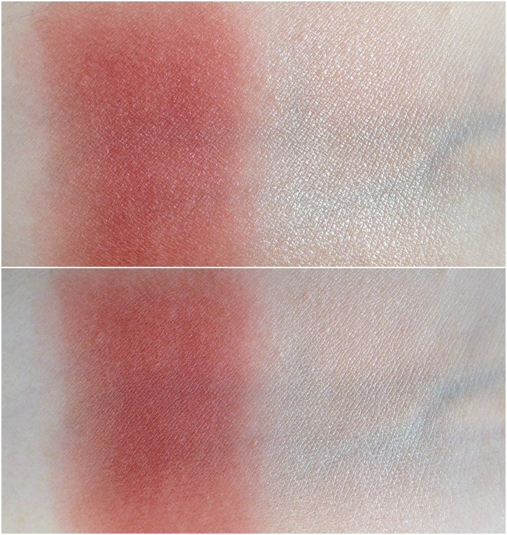 REVIEW & SWATCHES: FALL 2014 CONTOURING CHEEK DUO IN SOFTCORE Softcore Swatch2 725x764
