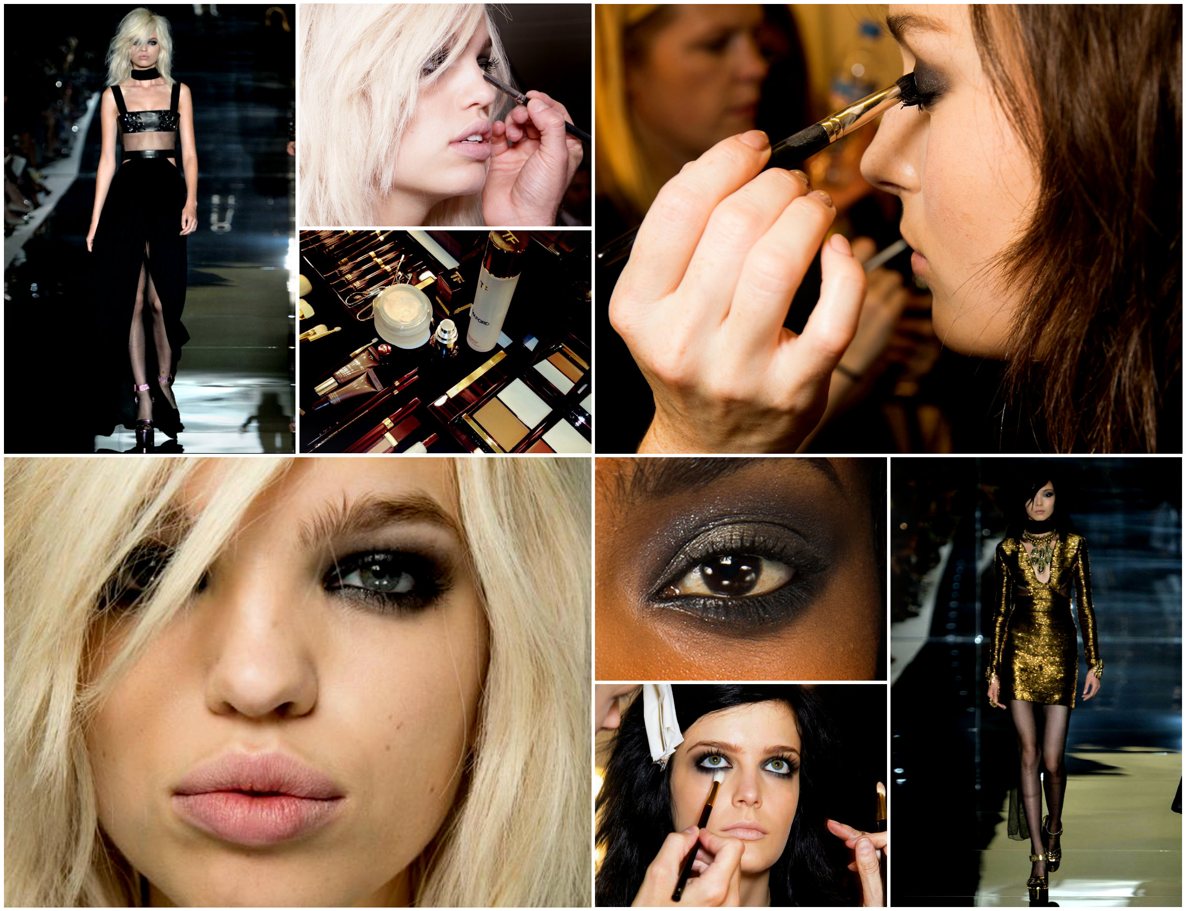 GET THE LOOK: ROCKSTAR CHIC AT THE TOM FORD SPRING/SUMMER 2015 WOMENSWEAR COLLECTION RUNWAY SHOW featured image