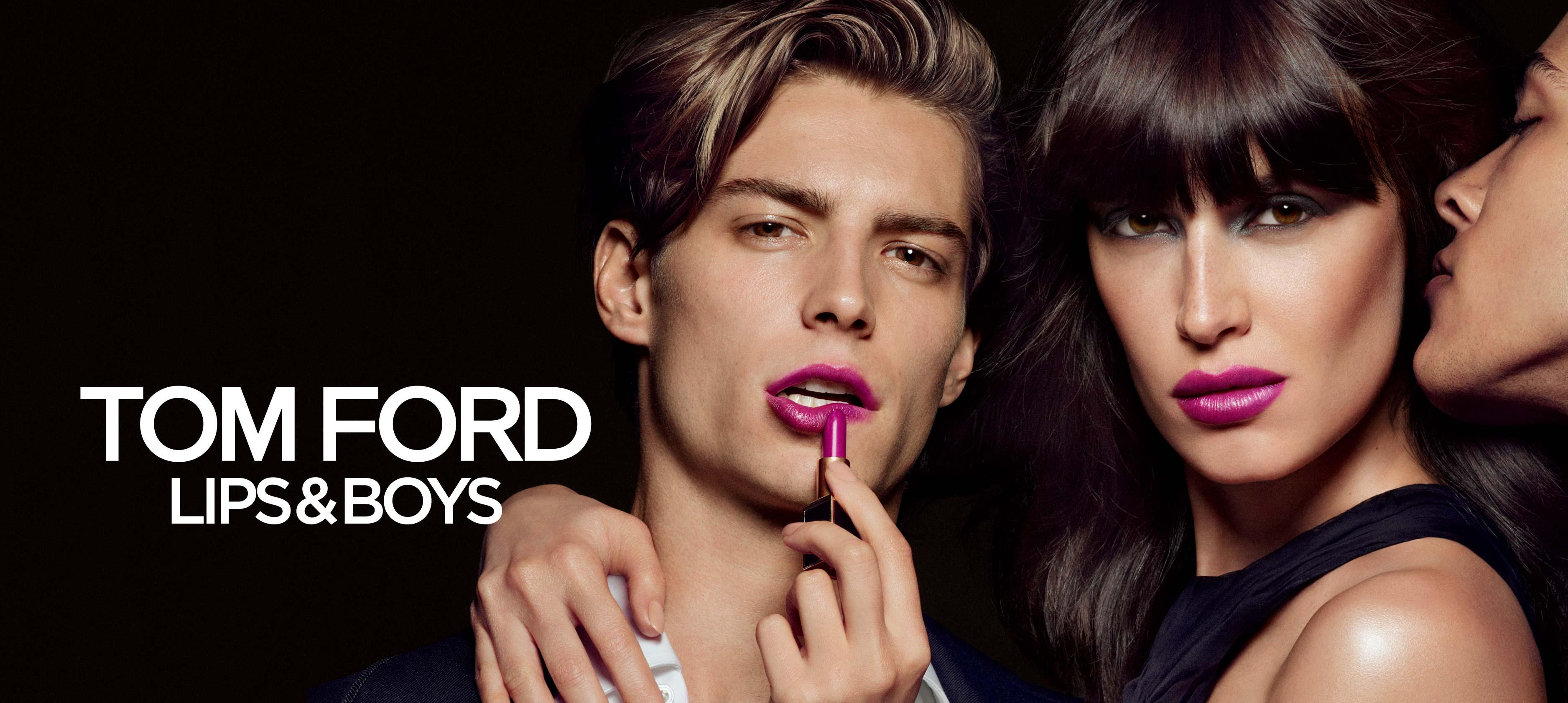 TOM FORD LIMITED-EDITION LIPS & BOYS LIP COLOR COLLECTION featured image